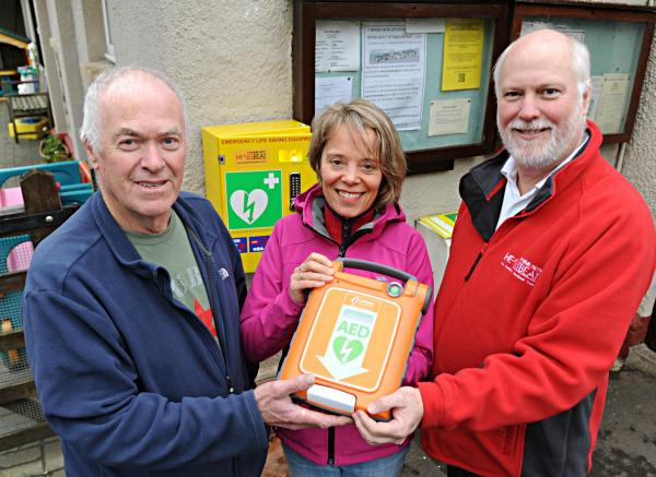 Gazette: Determined Uley resident successfully campaigns for defibrillator in her village